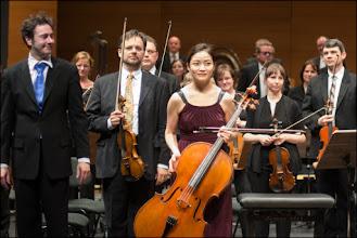 Photo: Haedeun Lee: Violoncello A. Dvorak Cello Konzert mit Norddeutschen Philharmonie 9. April 2016 im HMT Rostock Katharinensaal