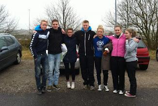 Photo: Nikolaj, Anders, Laura, Rune, Kathrine, Simone og Mille