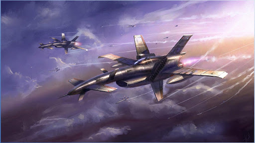 飛機科幻壁紙