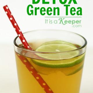 Raspberry Lime Detox Green Tea.