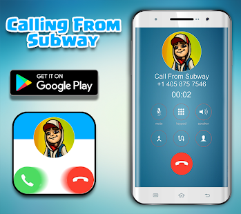 Call From Subway Surfer - Fake Call - náhled