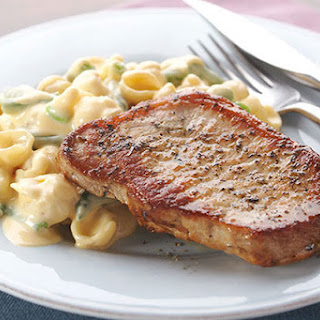 One-Pot Herb-Crusted Pork Chop Dinner.