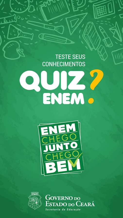 Quiz Enem SEDUC-CE- screenshot