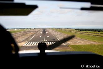 Photo: Final approach til bane 10 på Manston Airport.