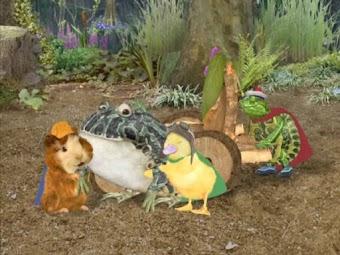 Save the Bullfrog/Save the Poodle