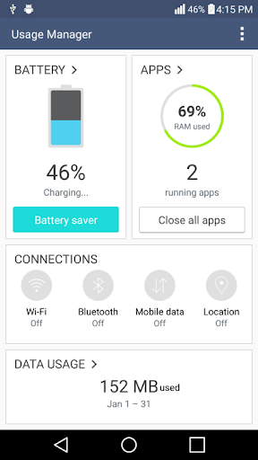 LG V10 Hidden Settings No Root 1.0 screenshots 3