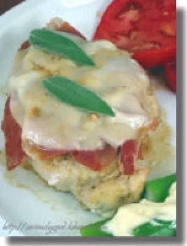 Chicken Breasts With Prosciutto & Mozzarella