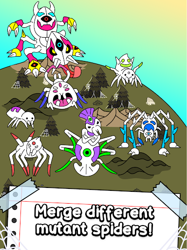 Spider Evolution - Merge & Create Mutant Bugs 1.0.1 screenshots 7
