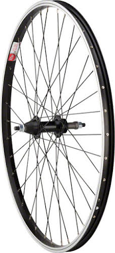 "Sta-Tru Rear Wheel 26x1.5"" Bolt-On with 36 Spokes 5-8 Speed Black"