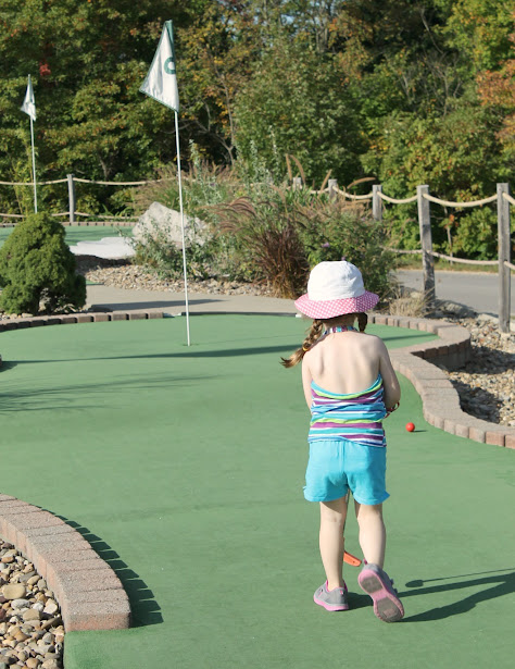 Summer Bucket List Ideas: Play a round of Putt Putt Mini Golf with the whole family