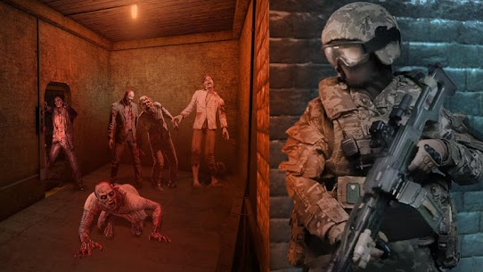 Last of Zombie: Real Survival Shooter 3D MOD (Unlimited Money) 4