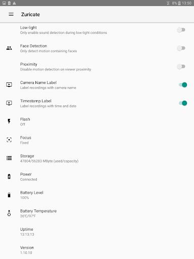 Zuricate Video Surveillance 1.12.1 screenshots 14