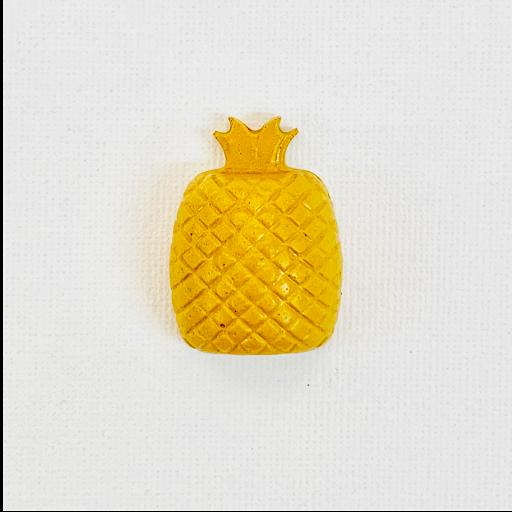 magnet frigo ananas en béton coloré