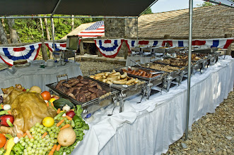 Photo: BBQ Catering Display