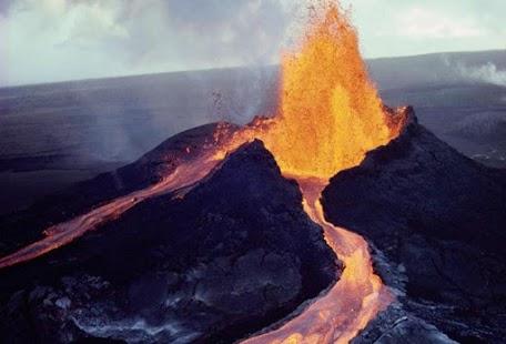 Volcano tapeta - náhled