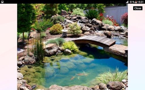 koi pond design ideas screenshot thumbnail - Koi Pond Designs Ideas