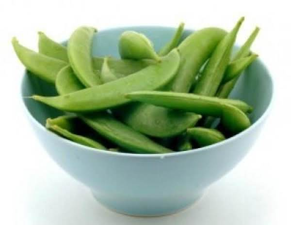 Sugar Snap Peas With Oregano Or Basil Recipe
