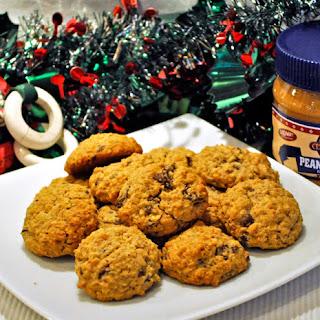 Peanut Butter, Oatmeal, Chocolate Chunk Cookies.