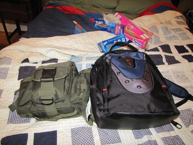 EDC Bag Reconfiguration