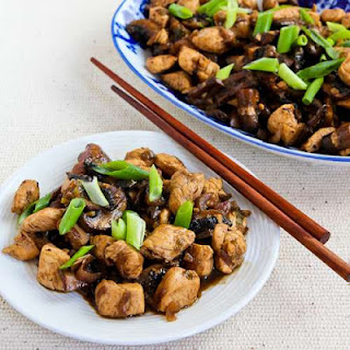 Mark Bittman's Ginger Chicken with Mushrooms and Thai Flavors.