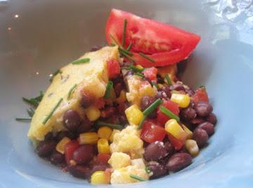 Jamaican-style Black Bean And Coconut Cornbread Bake Recipe