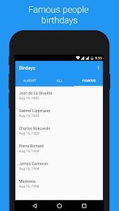 Birdays – Birthday reminder 5