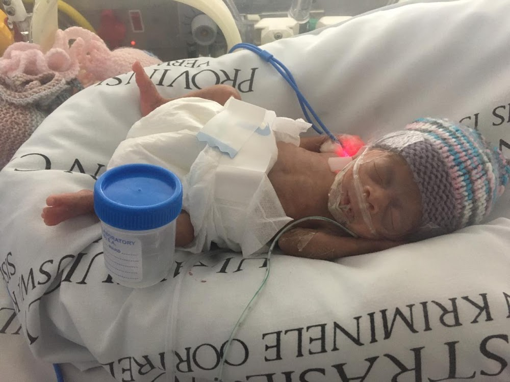 Miracle 500g baby Grace finally goes home after 116 days in hospital - SowetanLIVE
