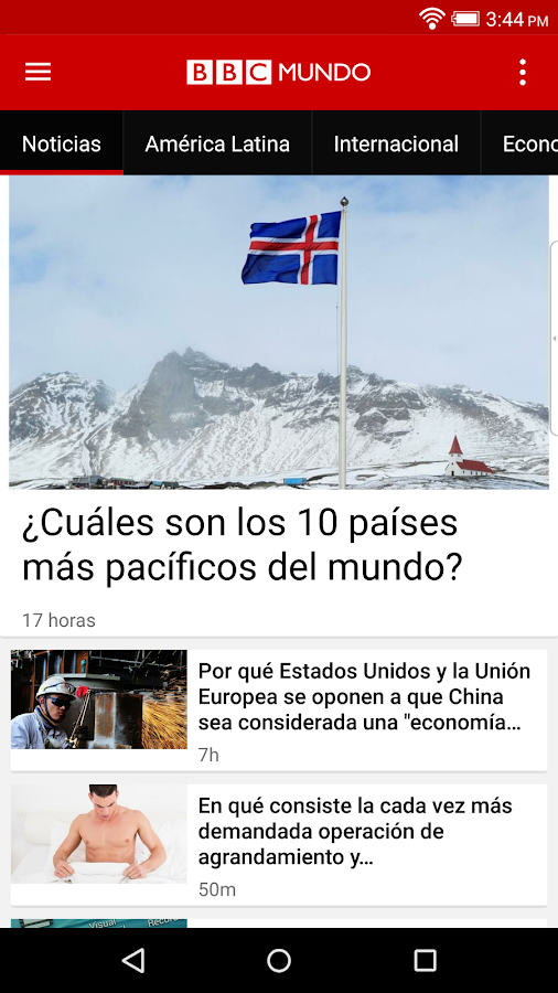 BBC Mundo- screenshot