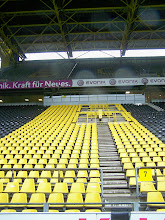 Photo: 18/10/11 - Tour photo taken at Signal Iduna Park, home of Borussia Dortmund FC - contributed by Gary Spooner