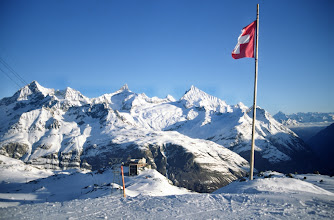 Photo: Unterwegs zum Breithorn, Walliser Alpen