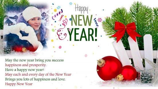 Happy New Year Photo Frames 2018 Free - náhled