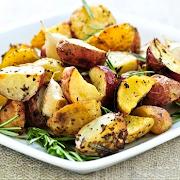 3. Fried Potatoes in Ukrainian Style