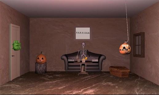 Uniknout hry Halloweenský hrad - náhled