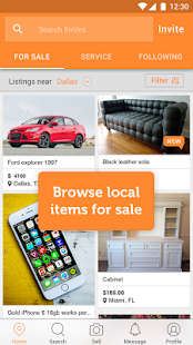 5miles: Local Buy & Sell Stuff- screenshot thumbnail