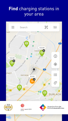 enbw mobility+ compare & charge electric cars screenshot 1