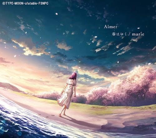 "Capa do single ""Haru wa Yuku/marie"" – Limited Anime Edition."