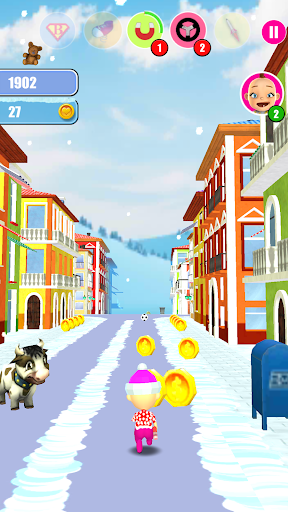 Baby Snow Run - Running Game 7 screenshots 1