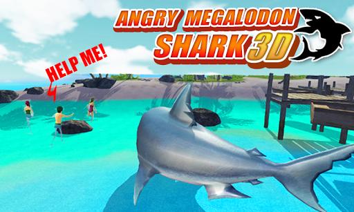 憤怒的巨齒鯊3D|玩模擬App免費|玩APPs