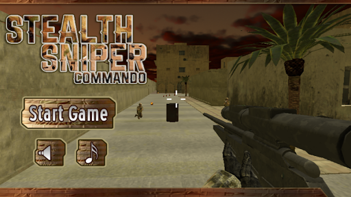 Stealth Sniper Commando