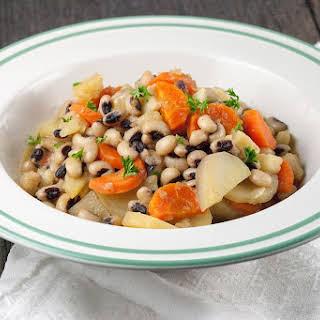 Vegetarian Black-eyed Pea Stew.