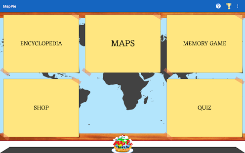 MapPie: geography learning- screenshot thumbnail