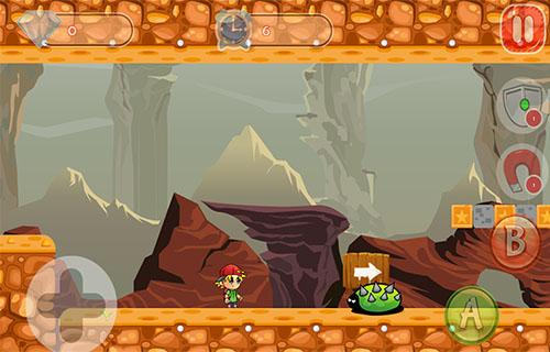 jungel adventures of tomy- screenshot
