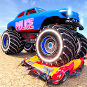 Free US Police Monster Truck Demolition Derby [20] icon