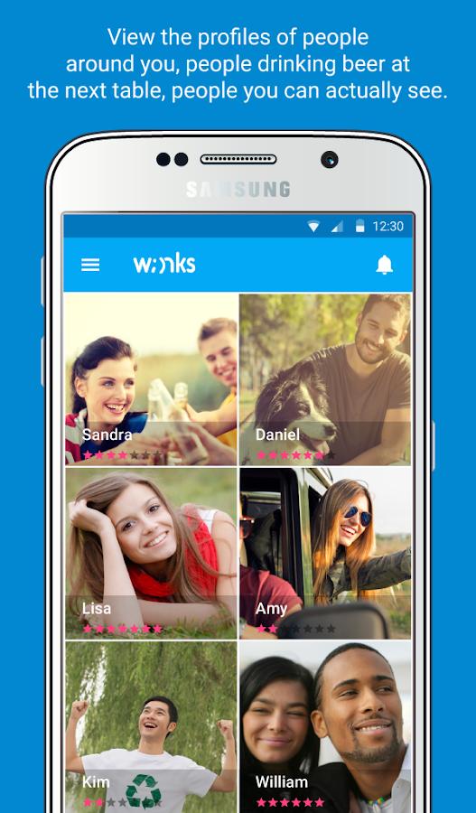 Winks - στιγμιότυπο οθόνης