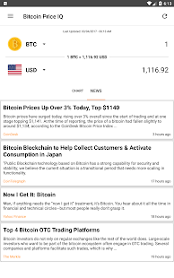 Bitcoin Price IQ- screenshot thumbnail