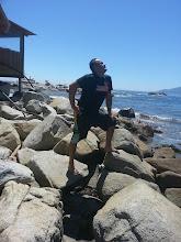 Photo: Doing the Captain Morgan at Maintencillo, Chile
