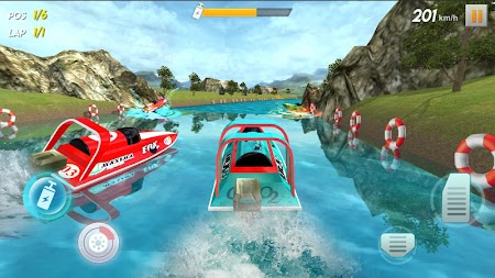 Powerboat Race 3D APK screenshot thumbnail 5
