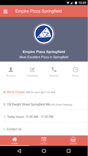 Empire PIzza Springfield- screenshot thumbnail