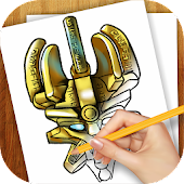 Learn to Draw Lego Bionicle