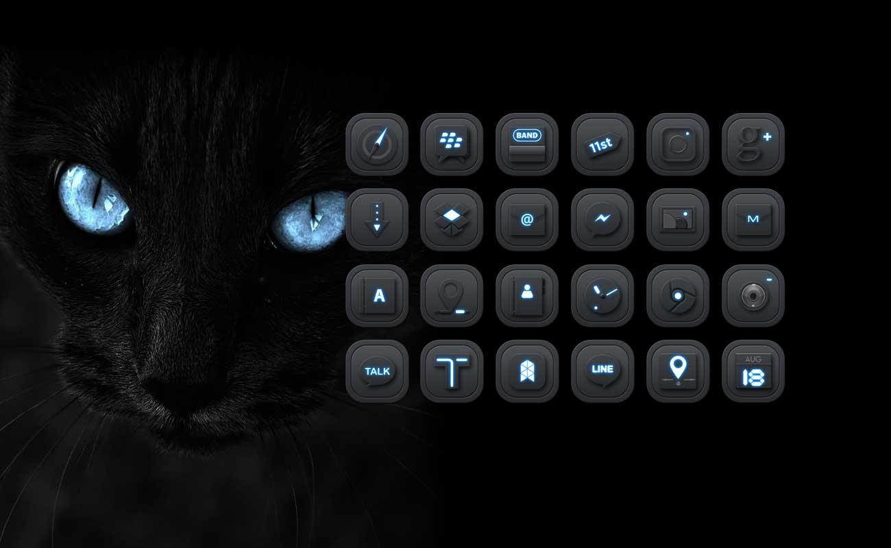 Hd black jaguar launcher theme android apps on google play hd black jaguar launcher theme screenshot voltagebd Images